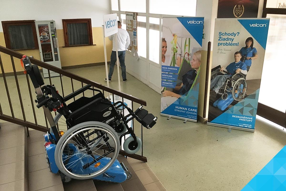 Handicap - Pásový schodolez