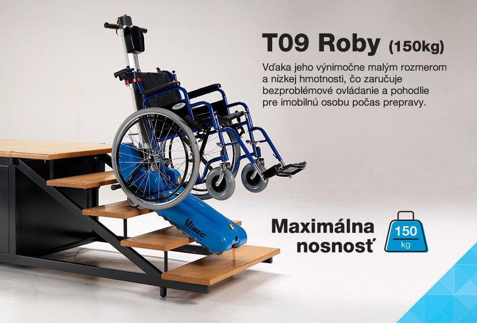 Pásový schodolez - Roby T09 150kg