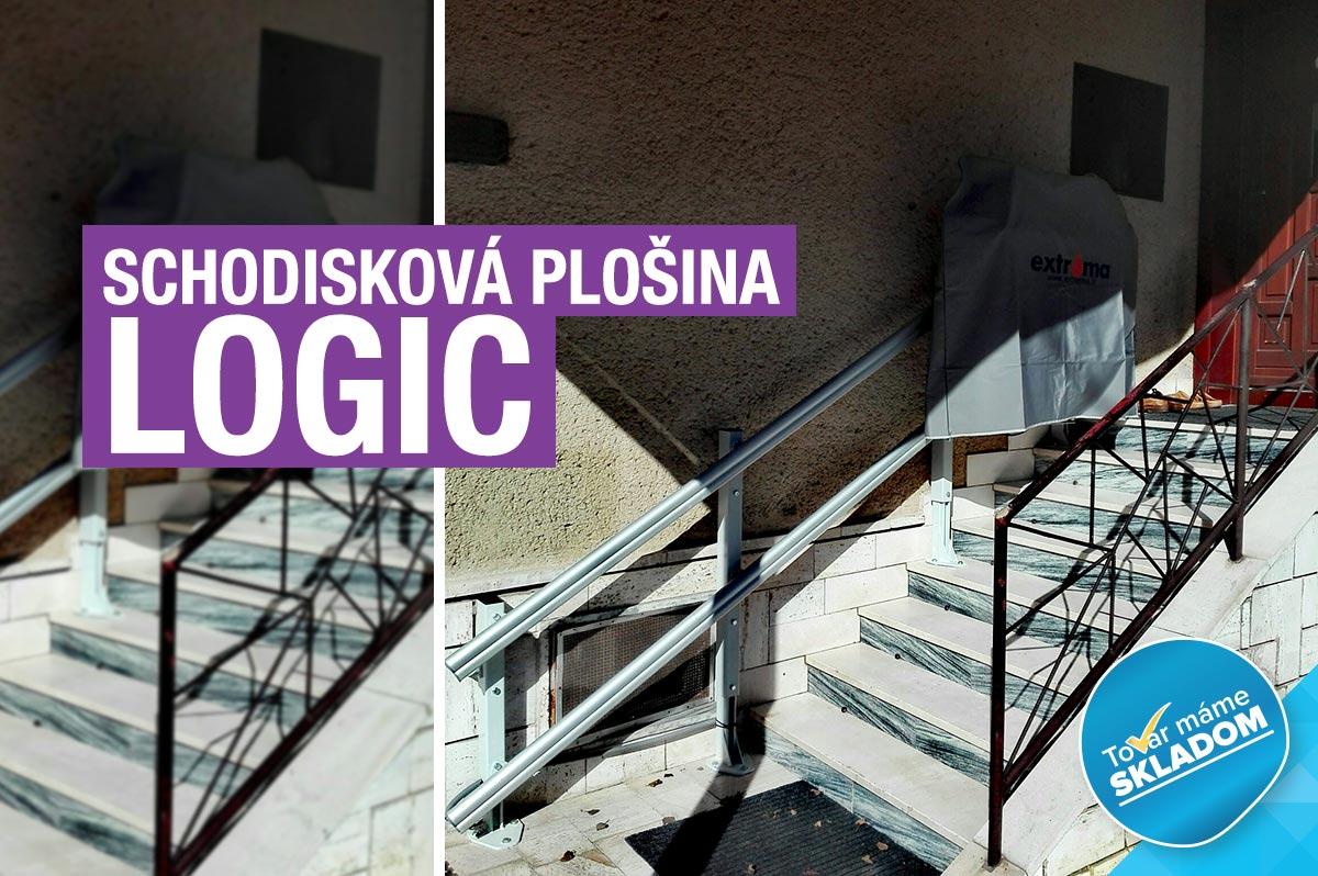 Šikmá plošina na schody - LOGIC