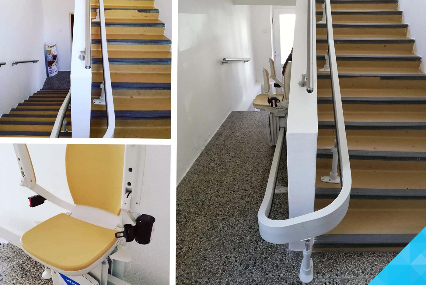 Inštalácia stoličkového výťahu