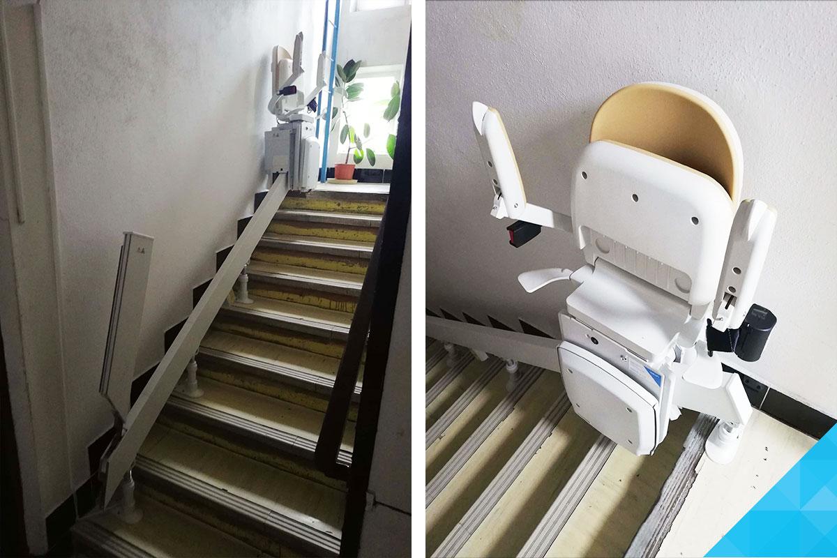 Stoličkový výťah pre vozíčkárov