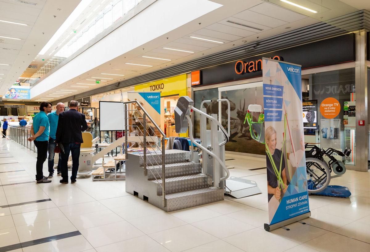 Výstava kompenzačných pomôcok pre imobilných - Zvolen 2019