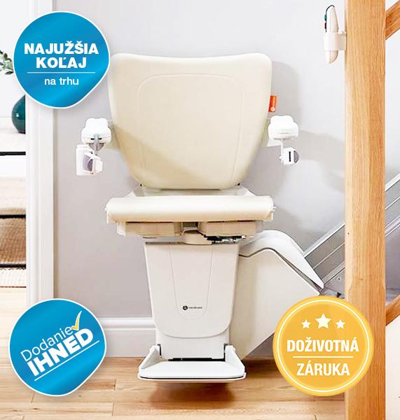 Handicare 1100 - schodiskový výťah pre imobilných a seniorov