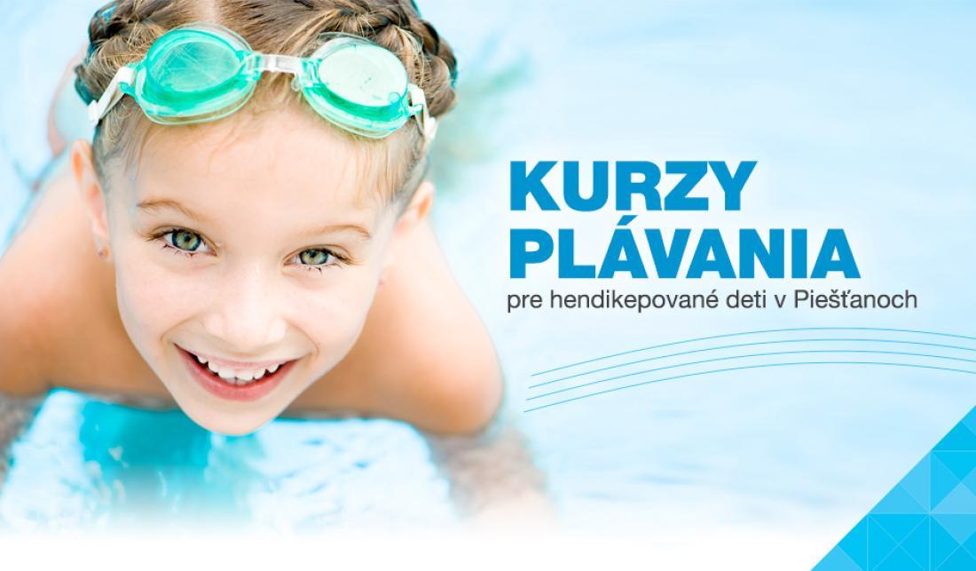 Kurzy plávania pre telesne hendikepované deti v Piešťanoch