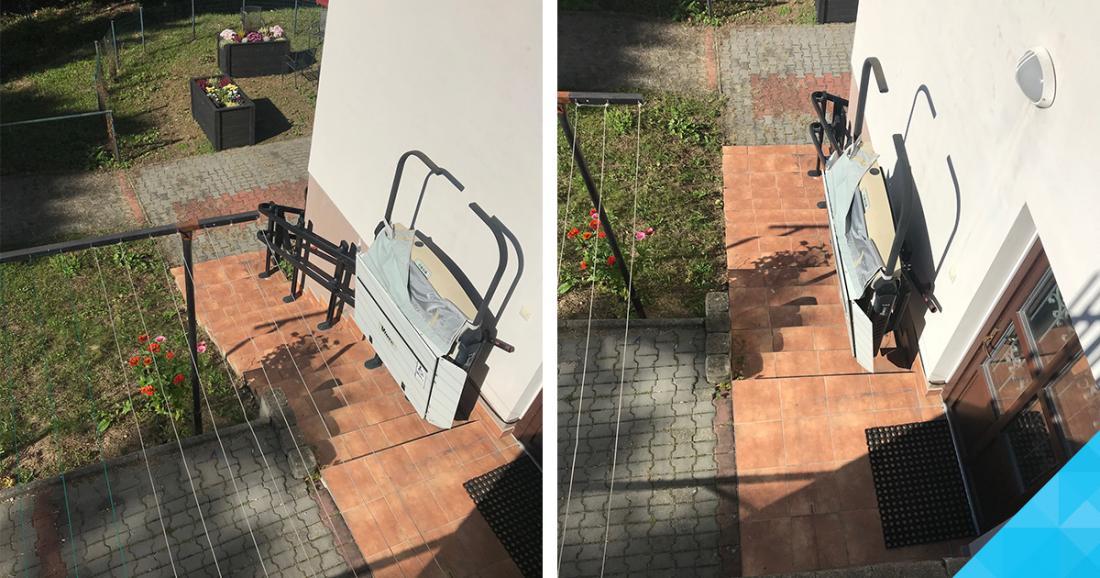 Šikmá schodisková plošina pre vozíčkarov a imobilných