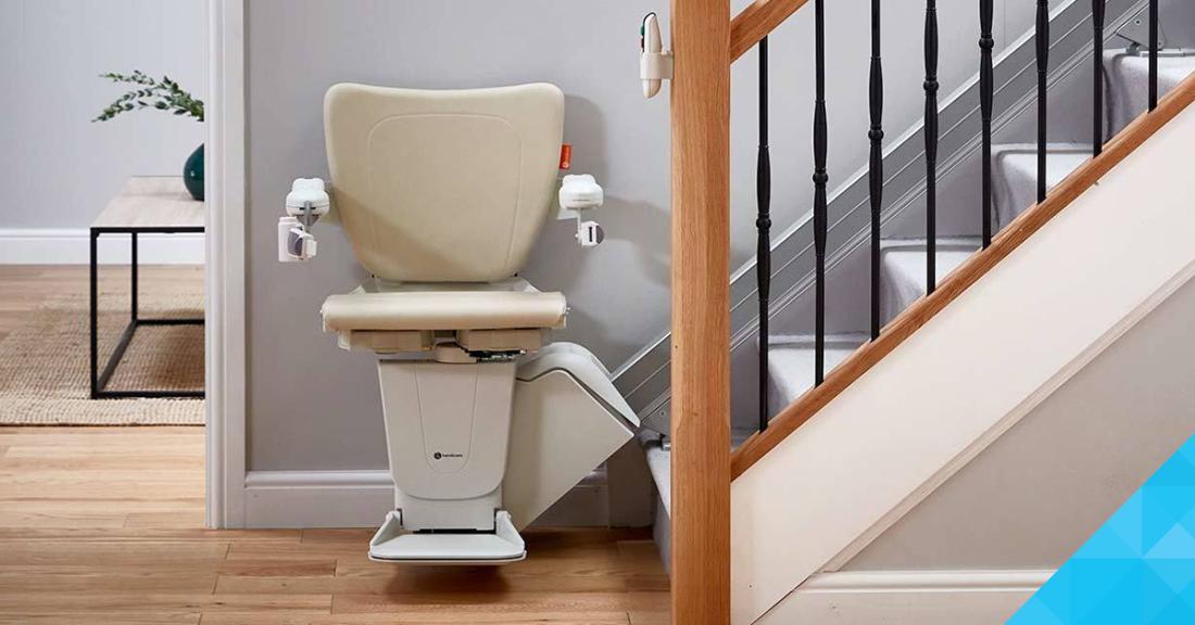 Stoličkový výťah - Handicare 1100