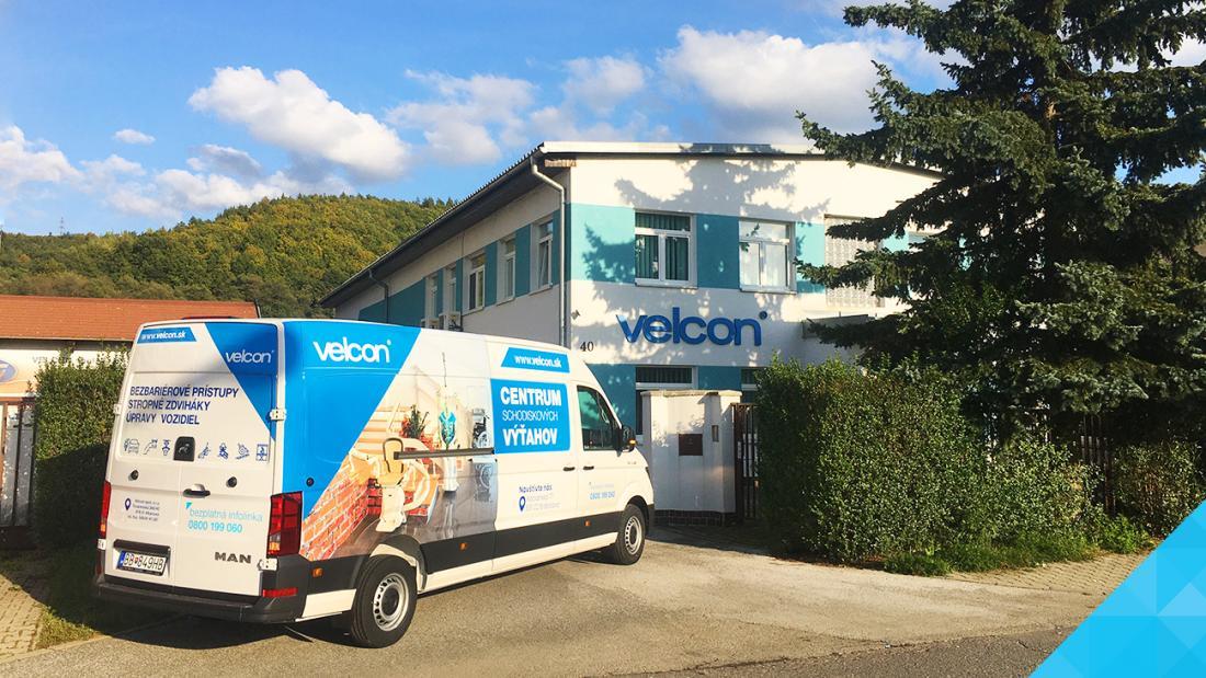 Velcon - Bezbariérové produkty