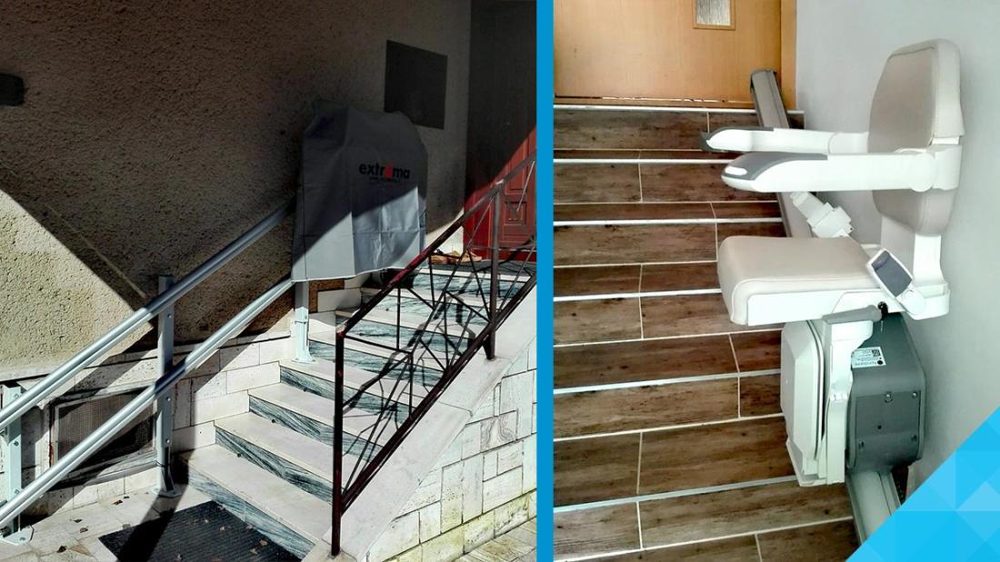 Výťah na schody pre imobilných - Cena