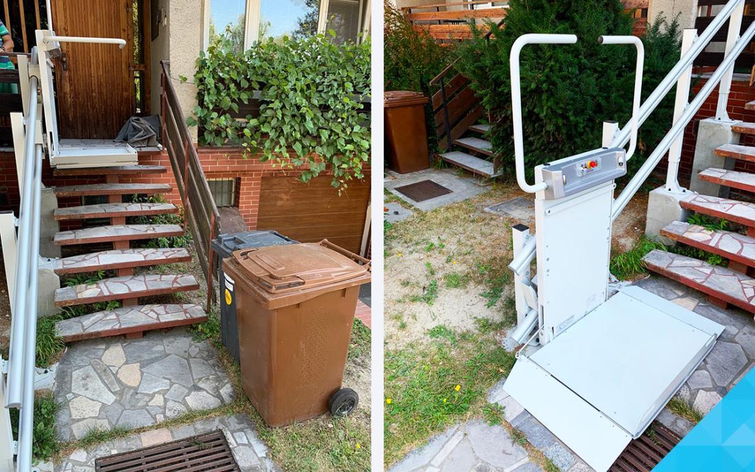 Šikmá schodisková plošina pre vozíčkara - LOGIC