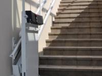 Šikmá schodisková plošina Logic – Exteriér