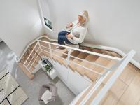 Domáci stoličkový výťah na schody Flow X