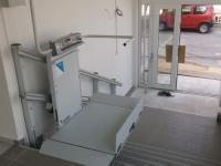 Šikmá schodisková plošina Logic – Interiér