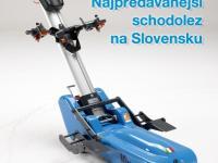Pásový schodolez - najpredávanejší model na Slovensku